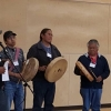 The Drummer singing for the Memorandum of Understanding (MOU) Agreement - 5 year celebration with LBN, which took place in Fort Babine in August 2015.