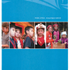 LBN's Morris Williams Elementary School students on the cover page of the First Nations Education Steering Committee and First Nations Schools Association annual report.